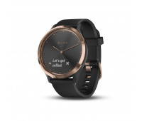 Garmin vivomove HR Sport,Black/Rose Gold, S/M