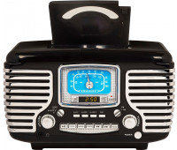 Crosley - Corsair with Bluetooth - Black