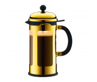 French Press coffee maker, 8 cup, 1.0 l, 34 oz, s/s