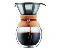 Coffee Maker 8 cup, double wall
