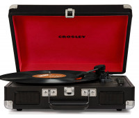Crosley - Cruiser Deluxe Turntable - Black