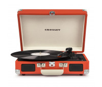 Crosley - Cruiser Deluxe Turntable - Orange