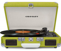 Crosley - Cruiser Deluxe Turntable - Green