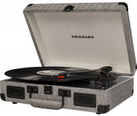 Crosley - Cruiser Deluxe Turntable - Herringbone