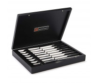 Wusthof Stainless 8-Piece Steak Knife Set with Black Box