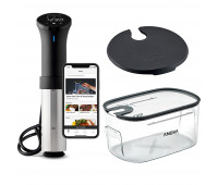 Anova Precision Cooker with Container and Lid Bundle