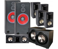 BIC America RTR-1530 7.2 Home Theater System with FH6-LCR + 4 FH-65B + 2 F-12
