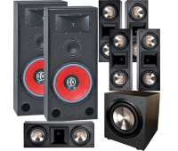 BIC America RTR-EV15 7.1 Home Theater System with 5 FH6-LCR + F-12
