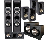 BIC America FH-6T 7.2 Home Theater System with FH6-LCR + 4 FH-65B + 2 F-12
