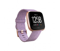 Fitbit - Versa Special Edition Smartwatch Lavender Woven/Rose Gold