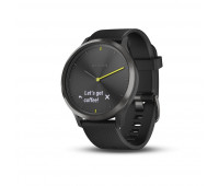 Garmin vivomove HR Sport, Black, L