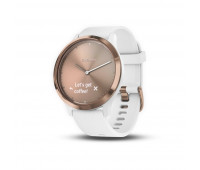 Garmin vivomove HR Sport,White/Rose Gold, S/M