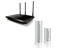 TP-Link AC1900 Smart Wifi Router with Nest Smart Thermostat Bundle